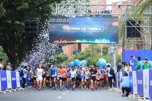 Carrera Corre mi Tierra Medellín Colombia