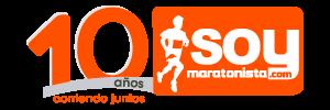 Logo aniversario soymaratonista