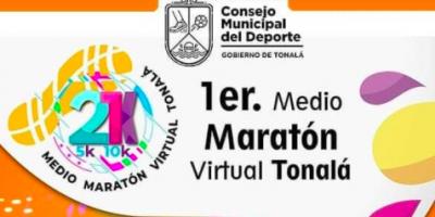 Medio Maratón Virtual Tonalá 21k