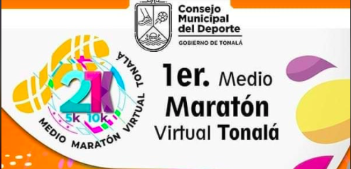 Medio Maratón Virtual Tonalá 21k