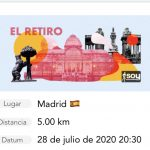 Carrera virtual en madrid