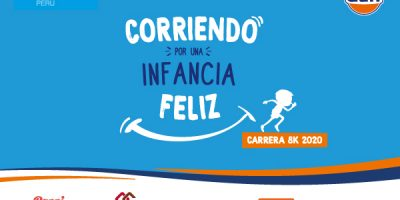 "Carrera virtual ""Corriendo por una Infancia Feliz"""