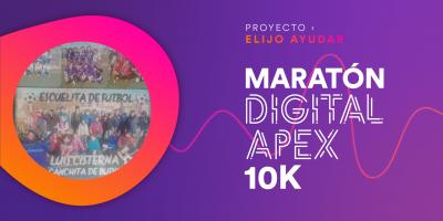 CARRERA VIRTUAL FUNDACIÓN ELIJO AYUDAR 10k