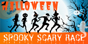 Carrera Virtual de Halloween 5K Spooky Scary