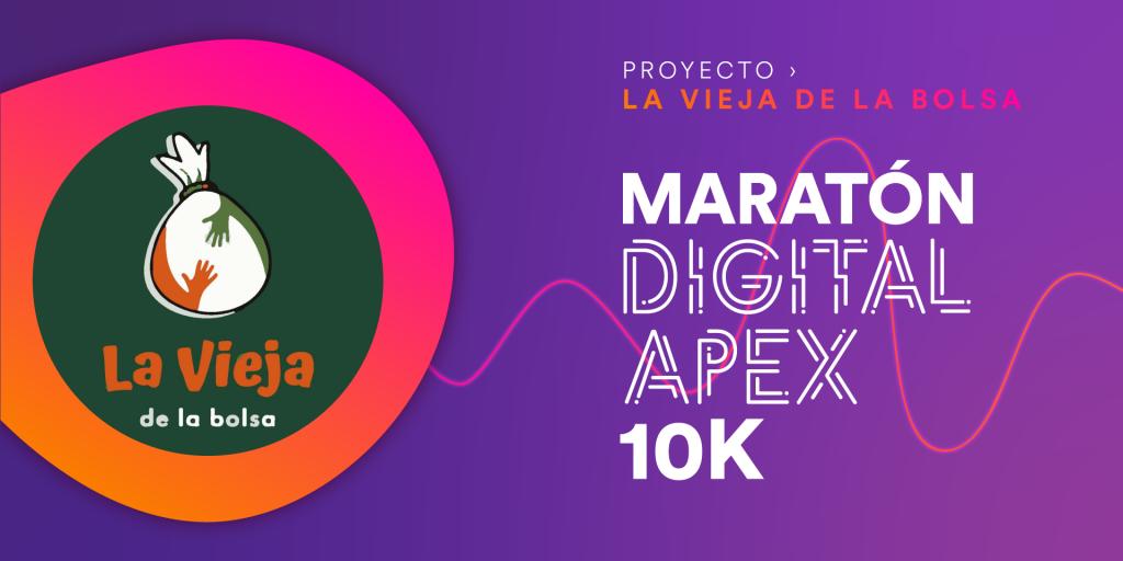 CARRERA VIRTUAL DEL PROYECTO LA VIEJA DE LA BOLSA 10k