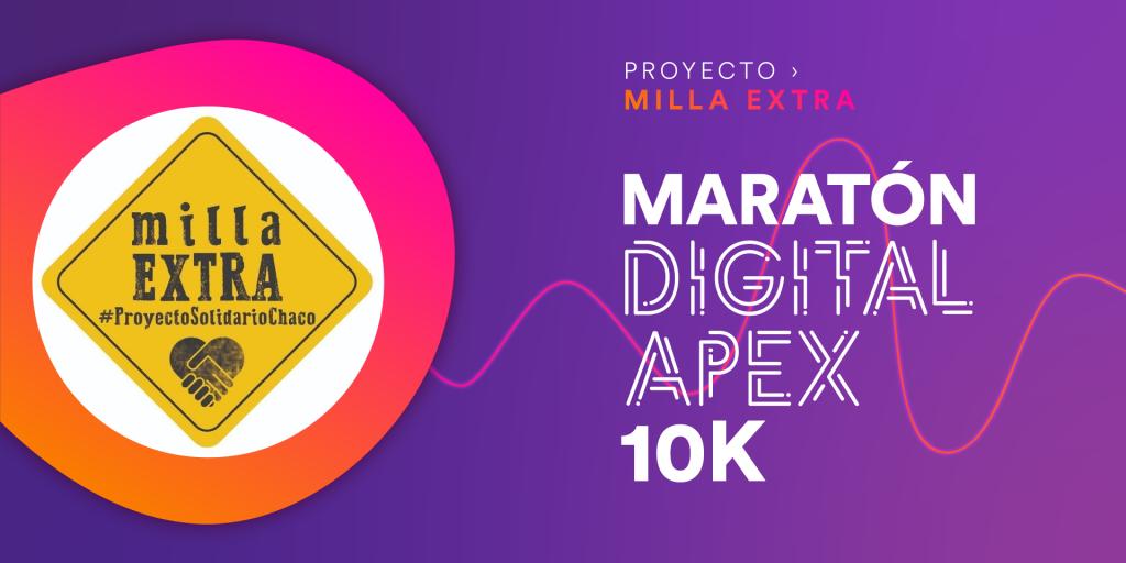 CARRERA VIRTUAL FUNDACIÓN MILLA EXTRA 10k