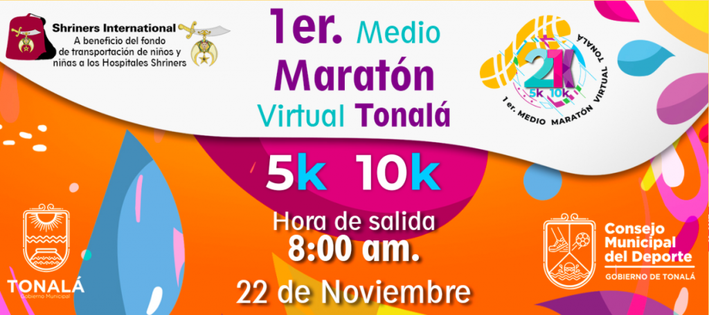 Medio Maratón Virtual Tonalá