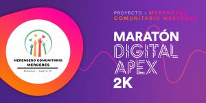 CARRERA VIRTUAL DEL PROYECTO MERENDERO COMUNITARIO MERCEDES 2k